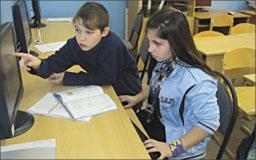 Тане Кулаевой и Диме Козлову современная техника стала настоящим помощником.