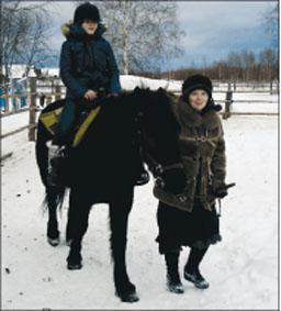 Наталья Белякова, Миля Тихонравова и Колобок